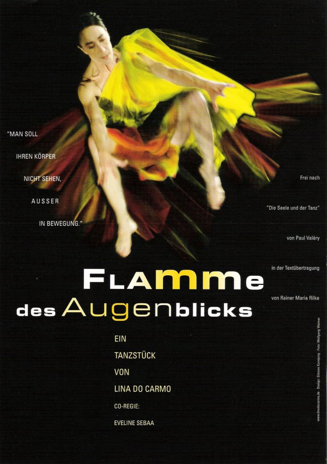 Flamme Poster